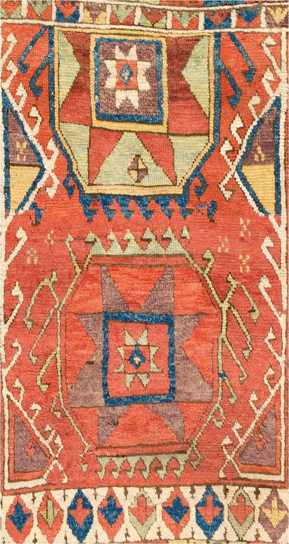 konya rug turkey c 1800 detail
