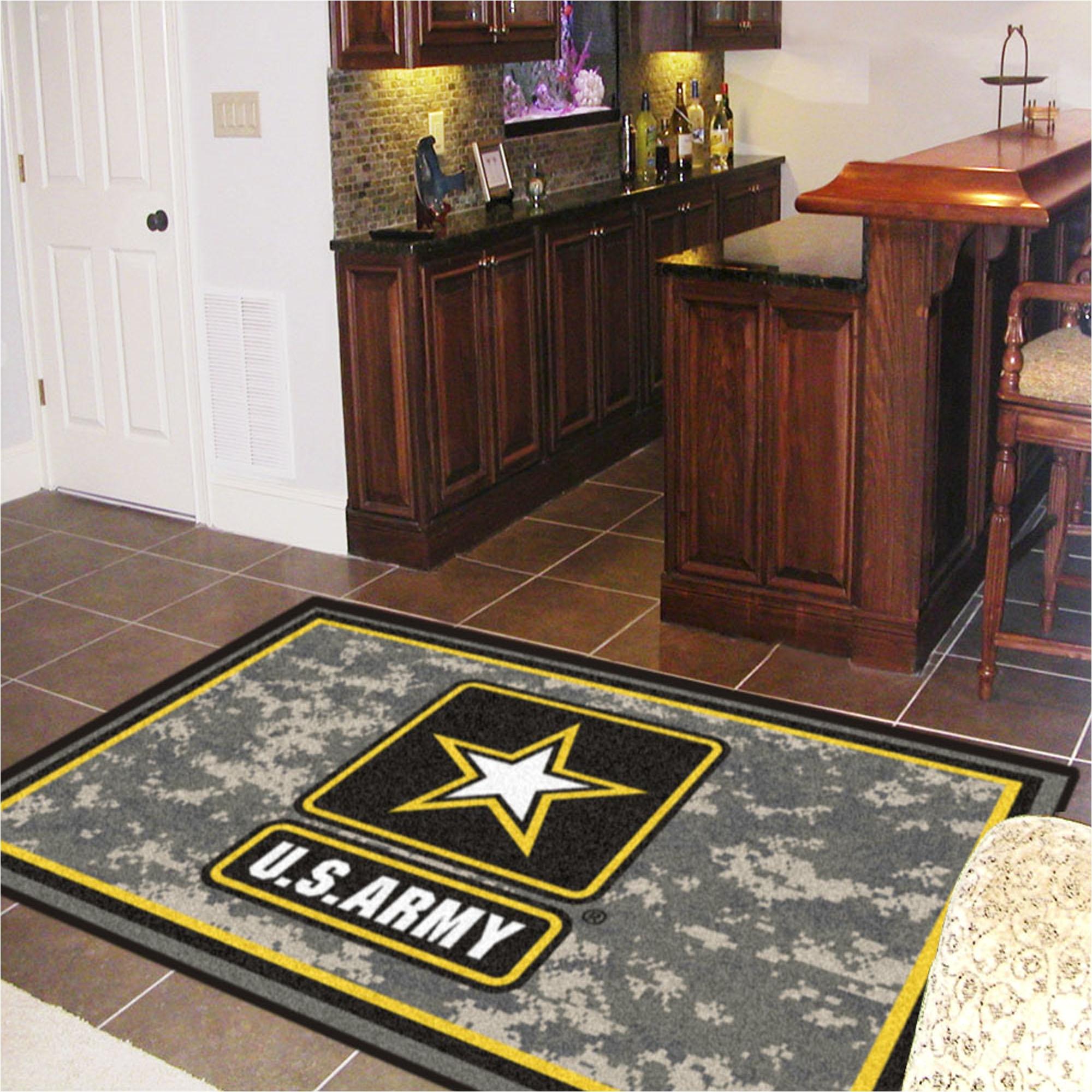 army area rug nylon 5 x 8