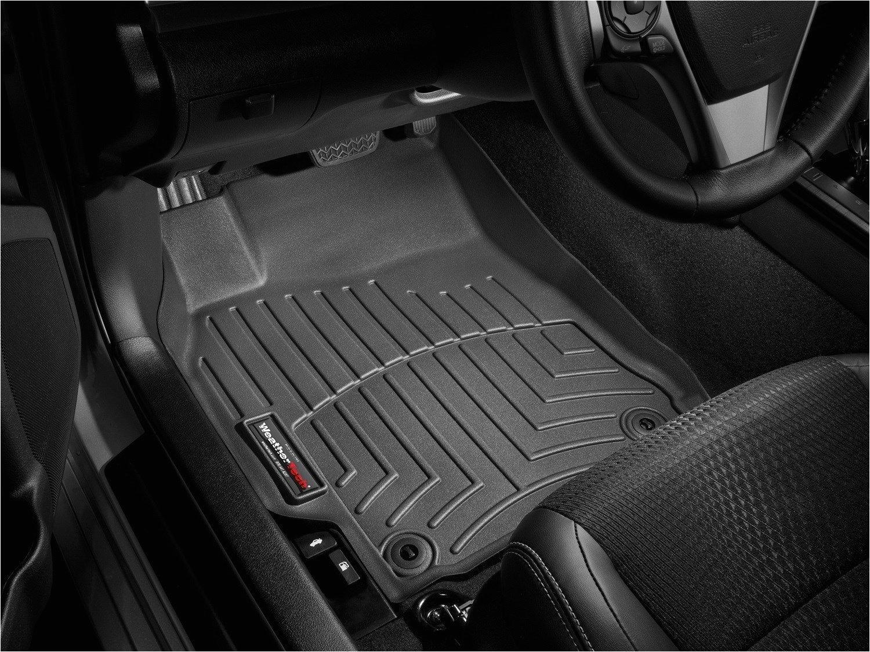amazon com weathertech custom fit front floorliner for honda pilot black automotive