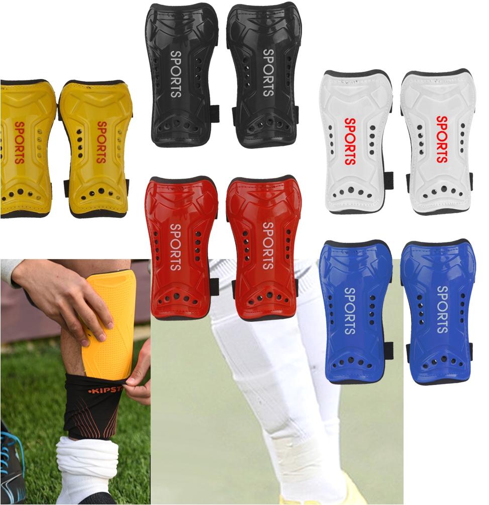 professional 2x soft light football shin pad guard sports leg protector kids adult grappling karate foot shank leg protectors