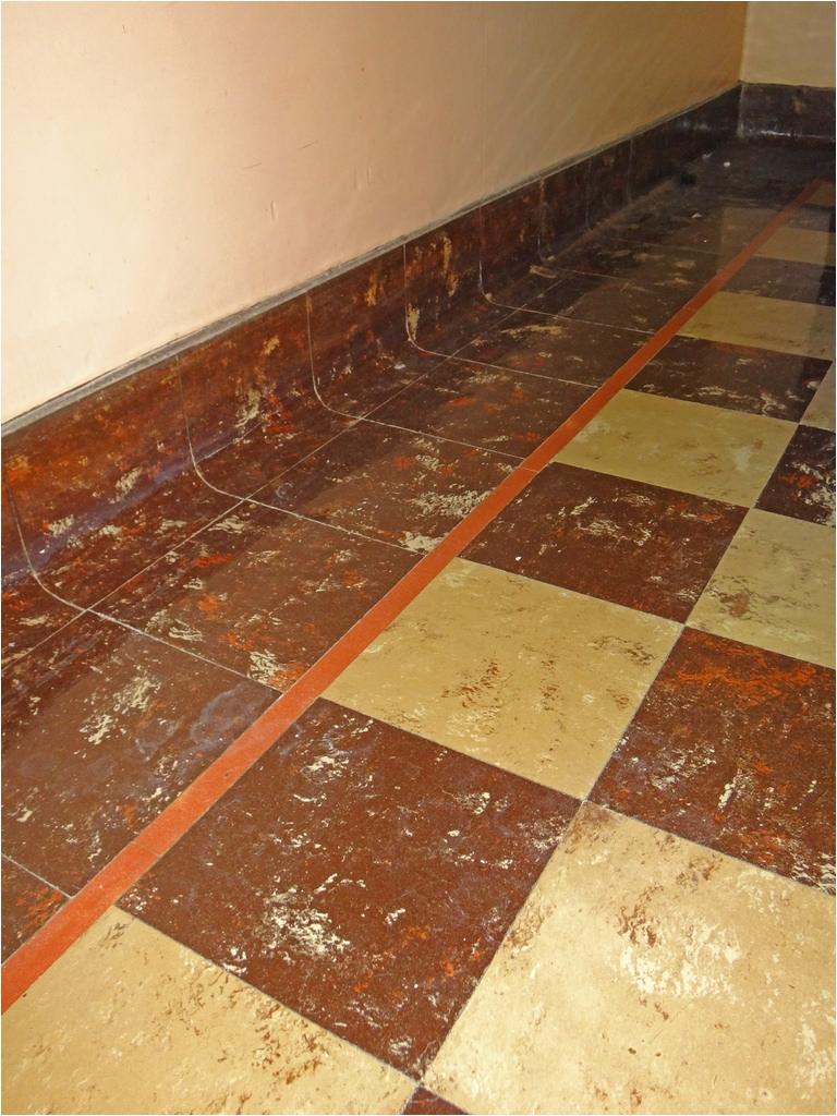 Asphalt Floor Tiles asbestos asbestos Floor Tile Cove Base Vintage 9 Inch Square asb Flickr