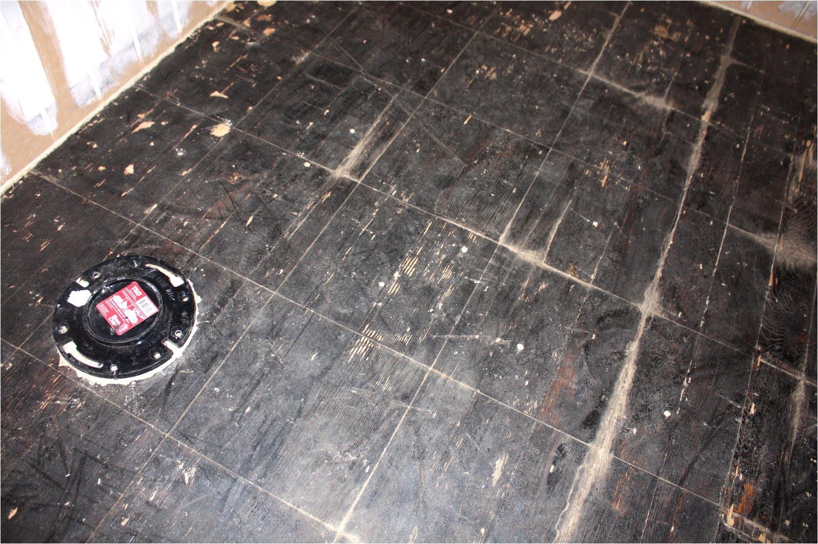 Asphalt Floor Tiles Asbestos This Old Church House Death By Asbestos