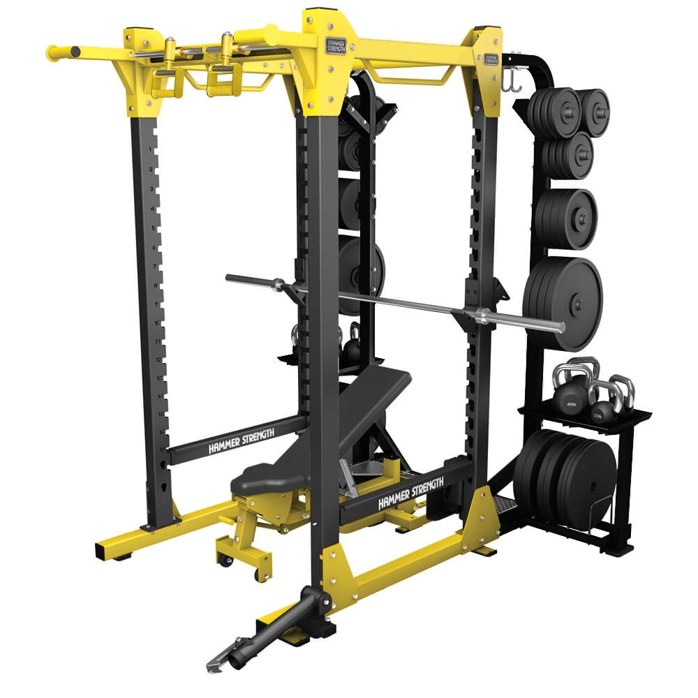 Atlas Power Rack Dip attachment Hammer Strength Hd Elite Power Rack for Strength Training Life Fitness