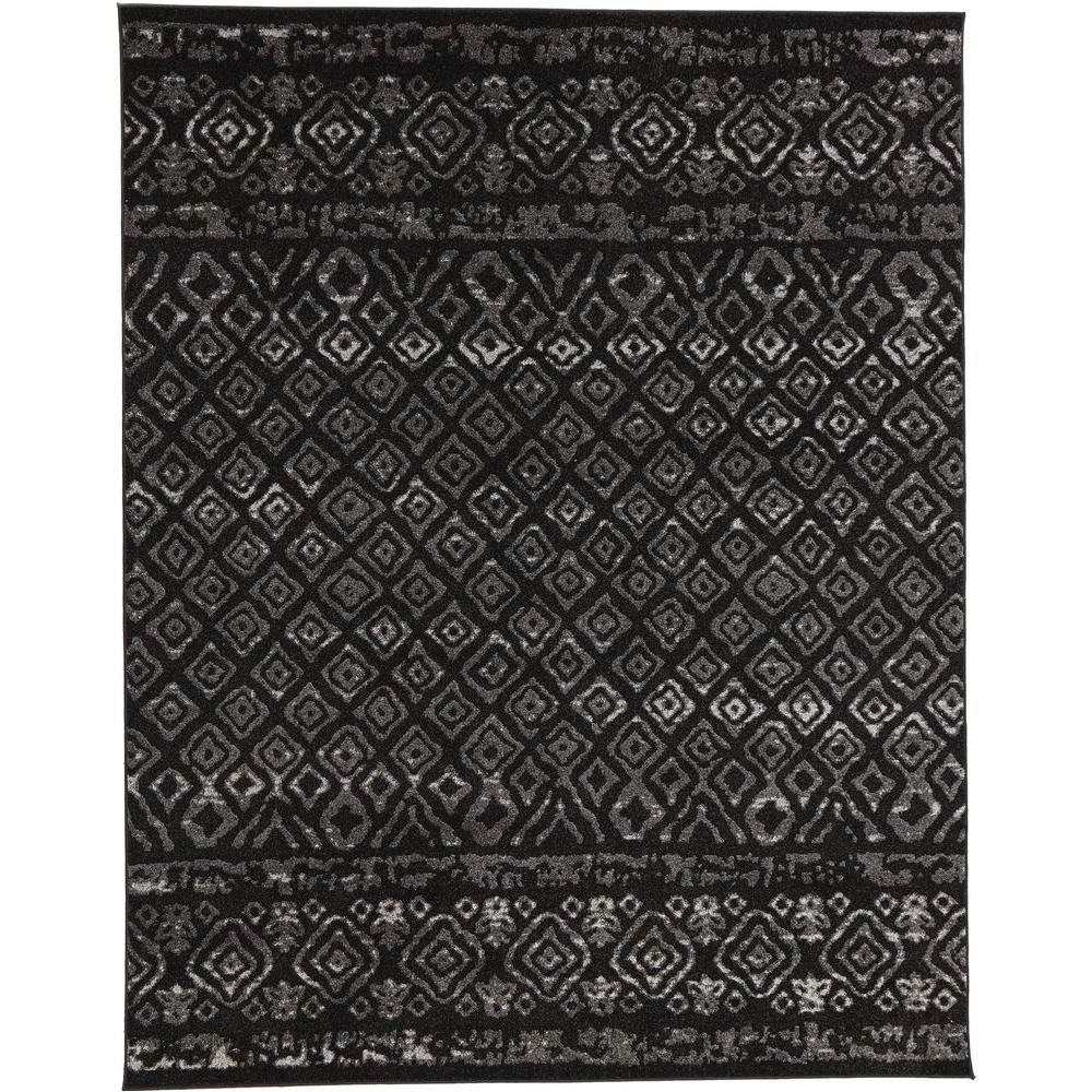 tribal essence black 9 ft 3 in x 12 ft 6 in area rug