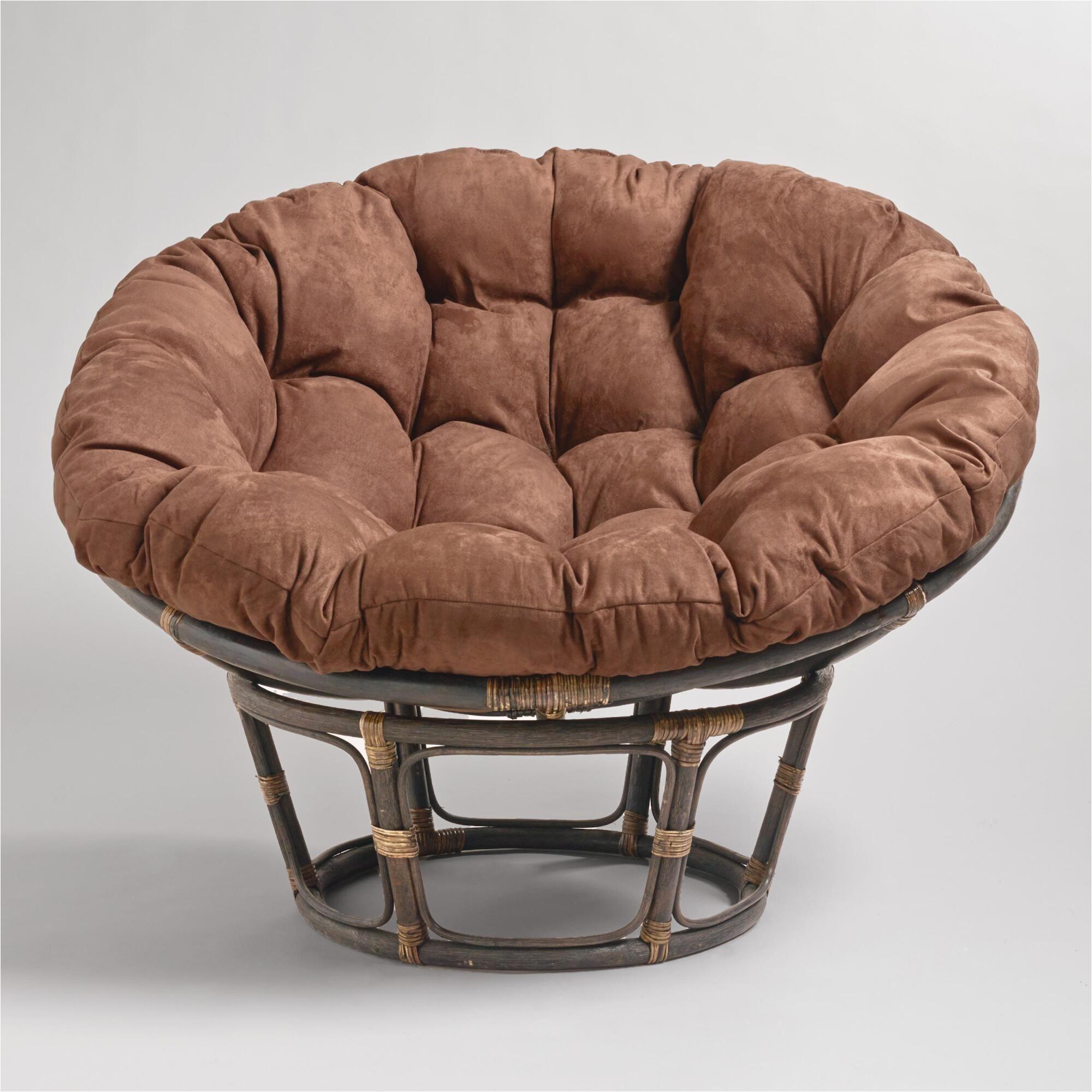 Baby Papasan Chair Target Java Microsuede Papasan Chair Cushion Easy ...