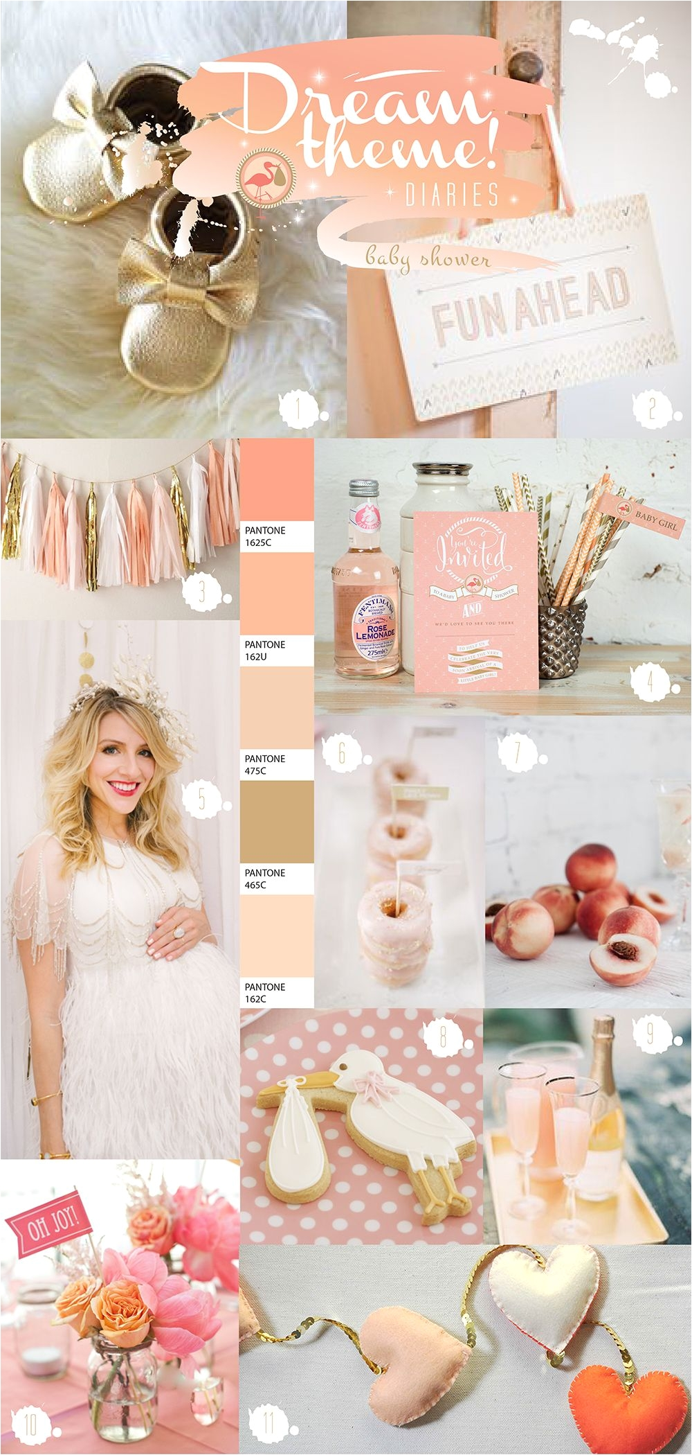 peach theme baby shower ideas by paperknots http www paperknots co uk peach baby shower