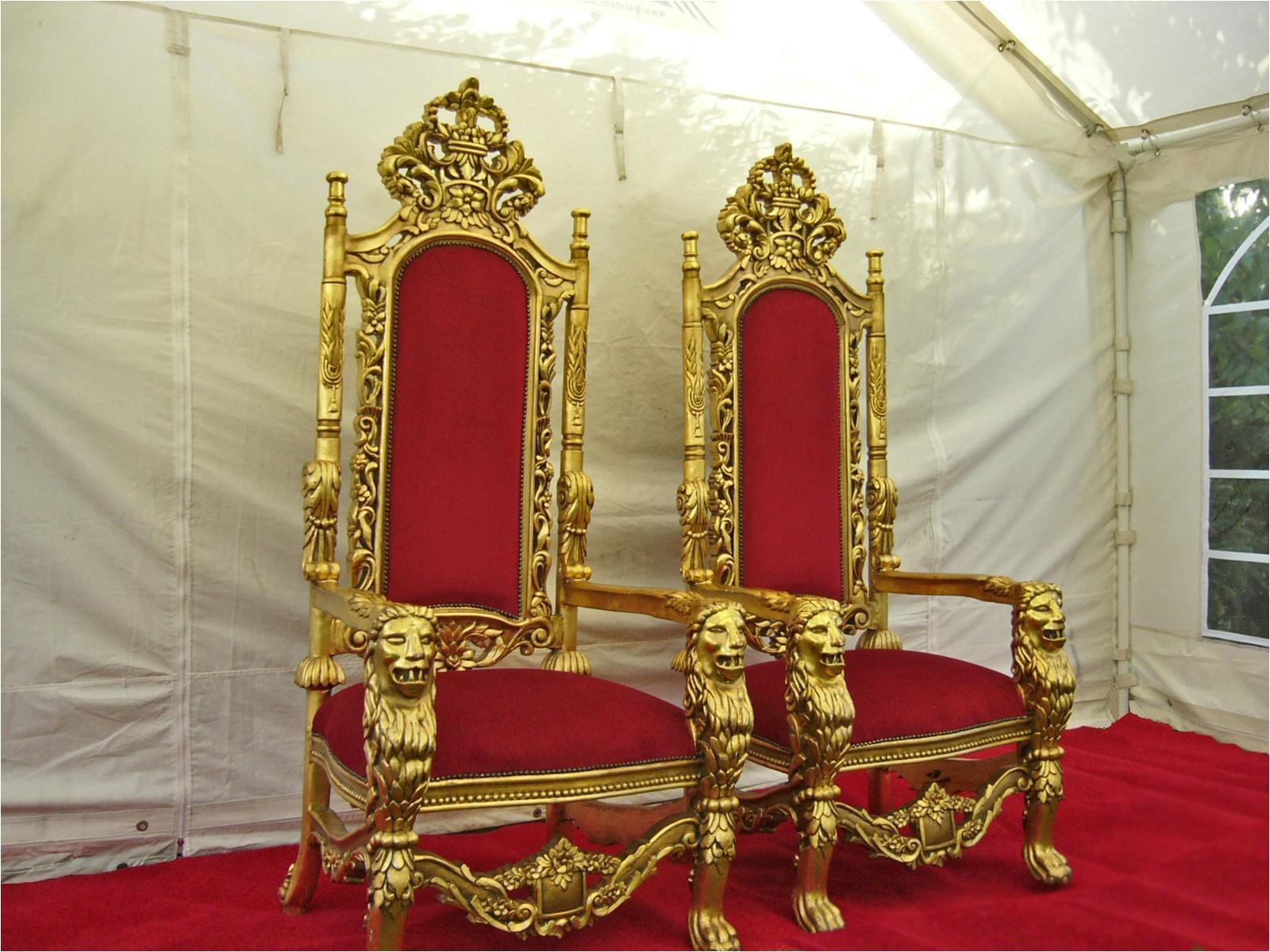 kings throne chair