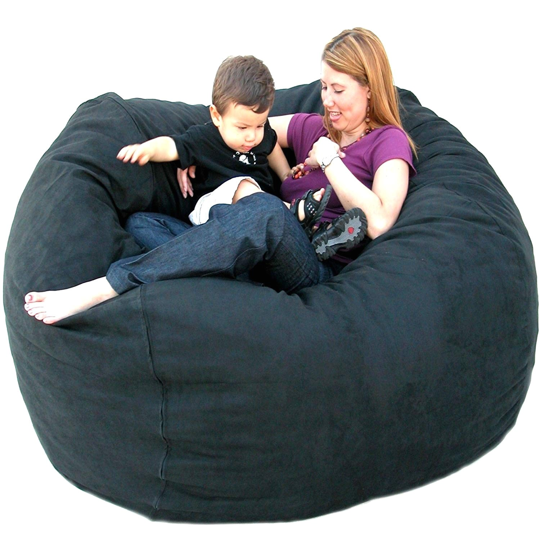 amazon com cozy sack 5 feet bean bag chair large black kitchen dining