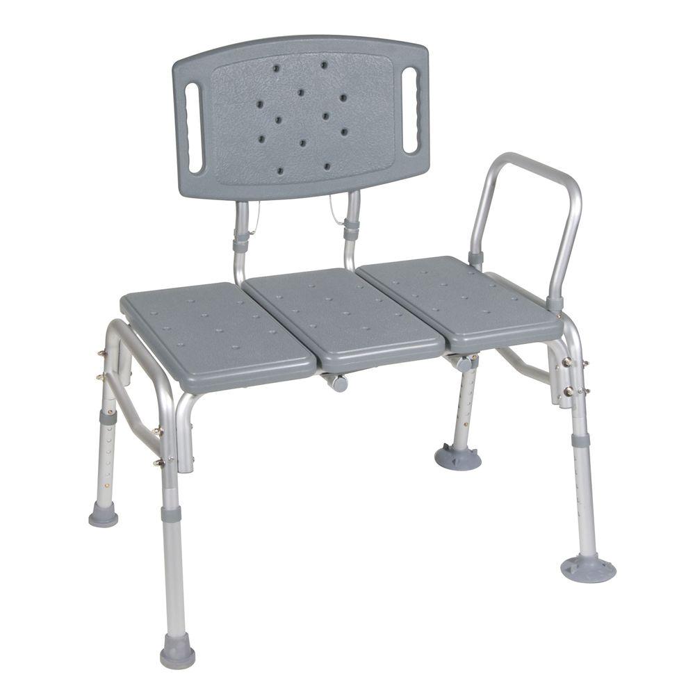 Bariatric Shower Chair Home Depot Drive Heavy Duty Bariatric Plastic ...