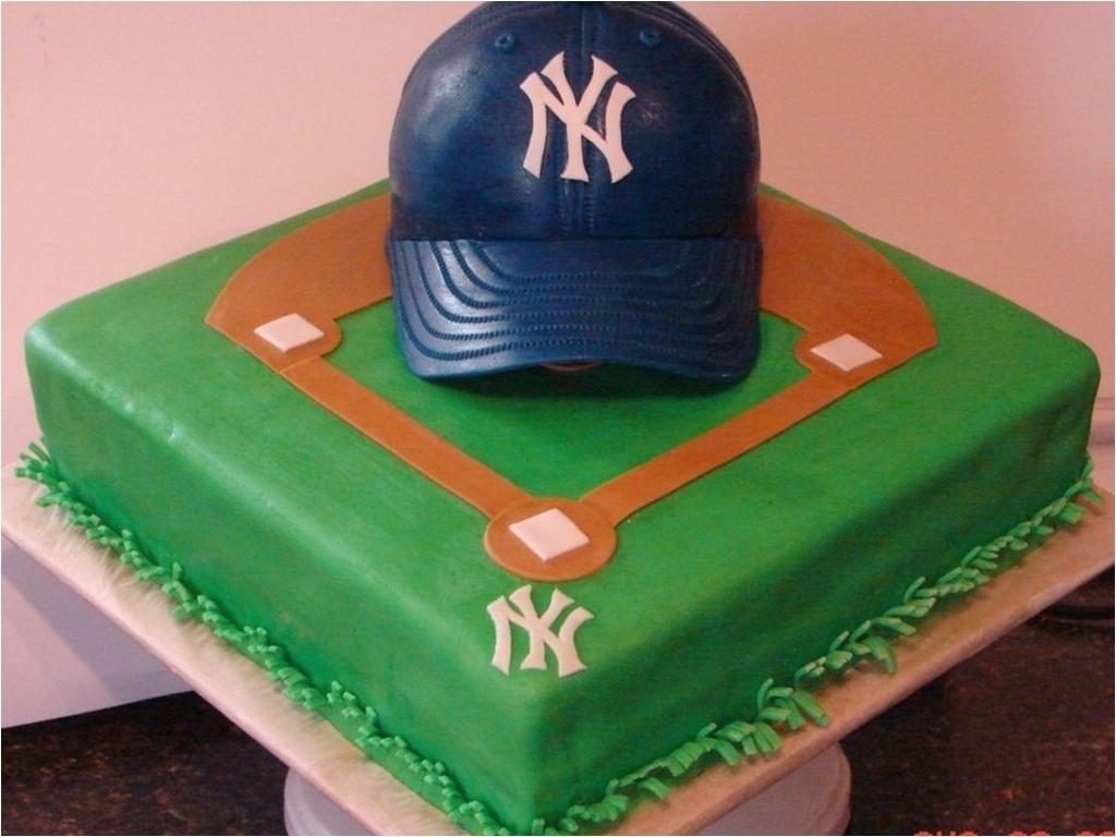 1024x768 yankees baseball cake jpg