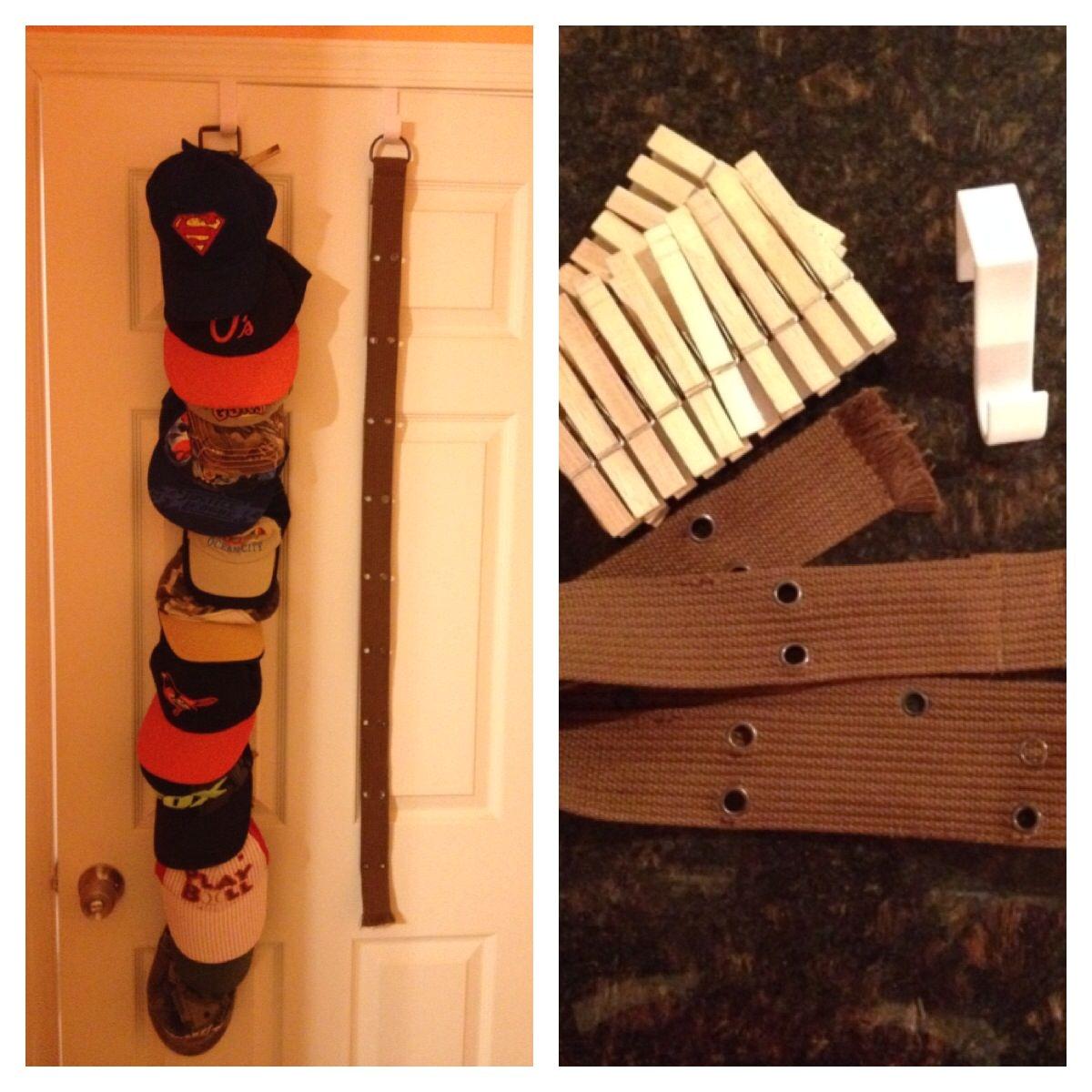 Baseball Hat Rack Target Diy Over the Door Hat Rack I Recently Pinned something Similar