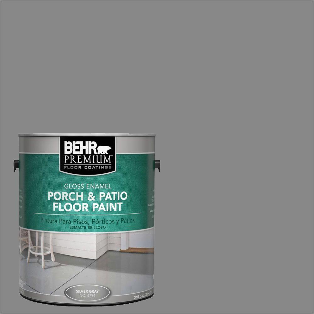 behr premium 1 gal pfc 63 slate gray gloss interior exterior porch