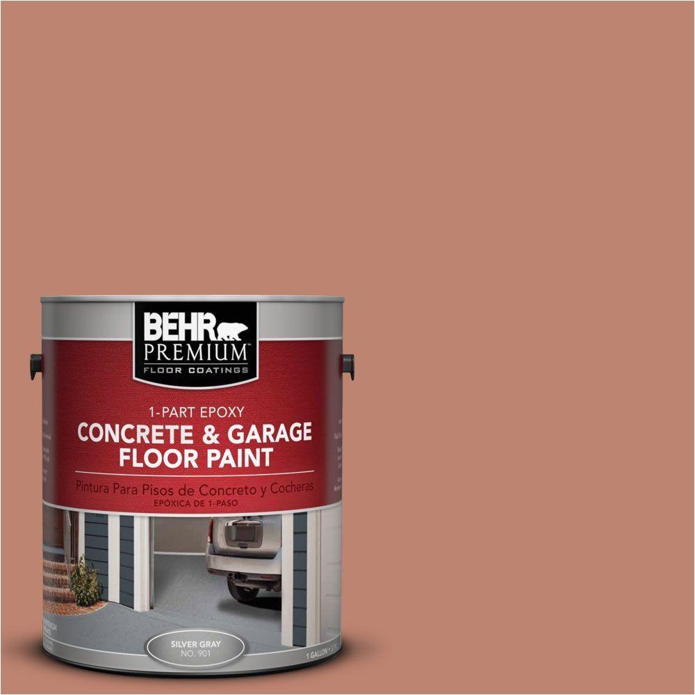 behr premium 1 gal pfc 13 sahara sand 1 part epoxy concrete