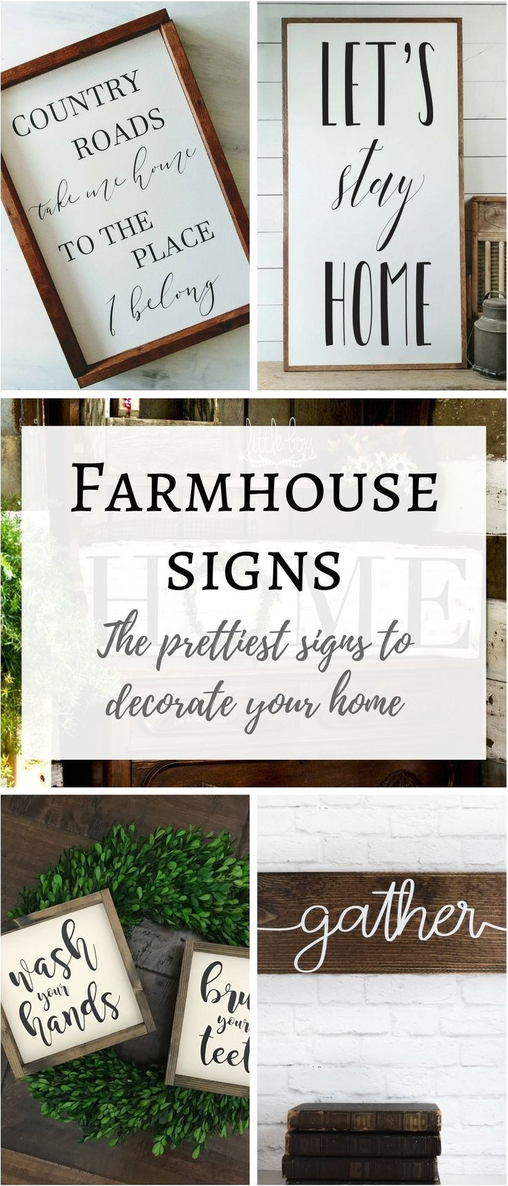 i have found the prettiest farmhouse style signs and listed them here farmhouse decor farmhouse sign white wood sign wedding gift housewarming