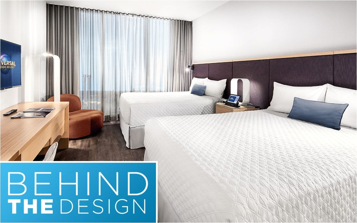 behind the design universal s aventura hotel guest rooms