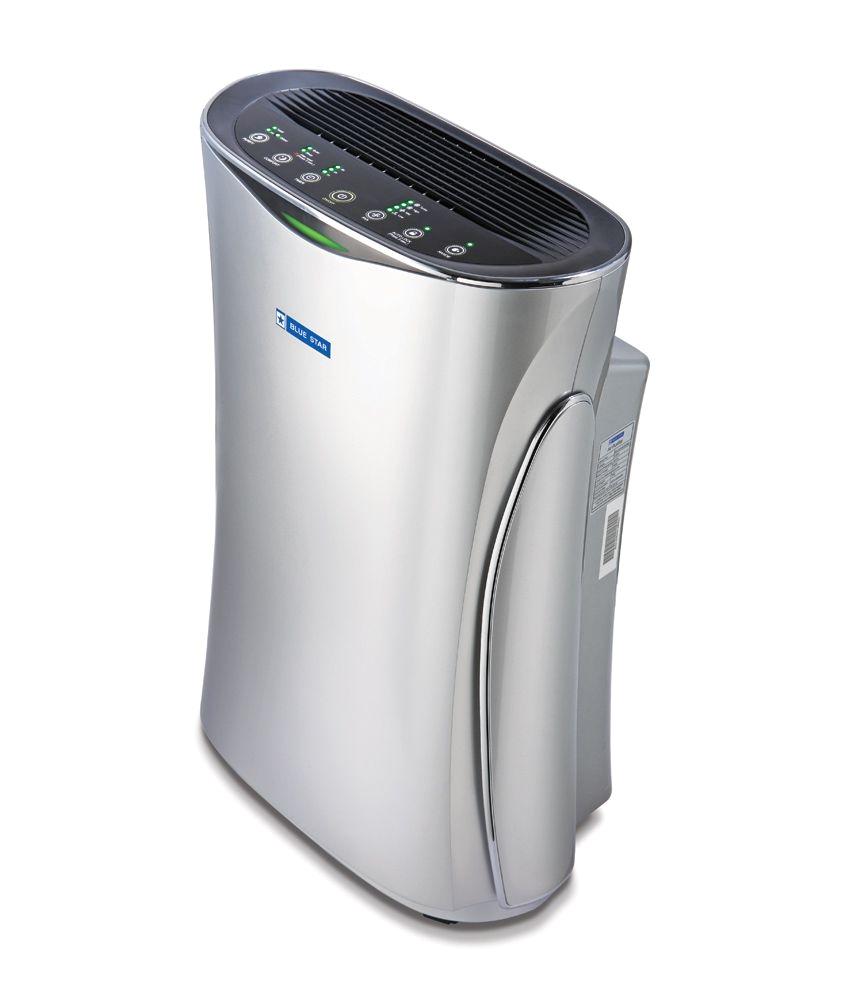 blue star bs ap450sans air purifier with hepa filter