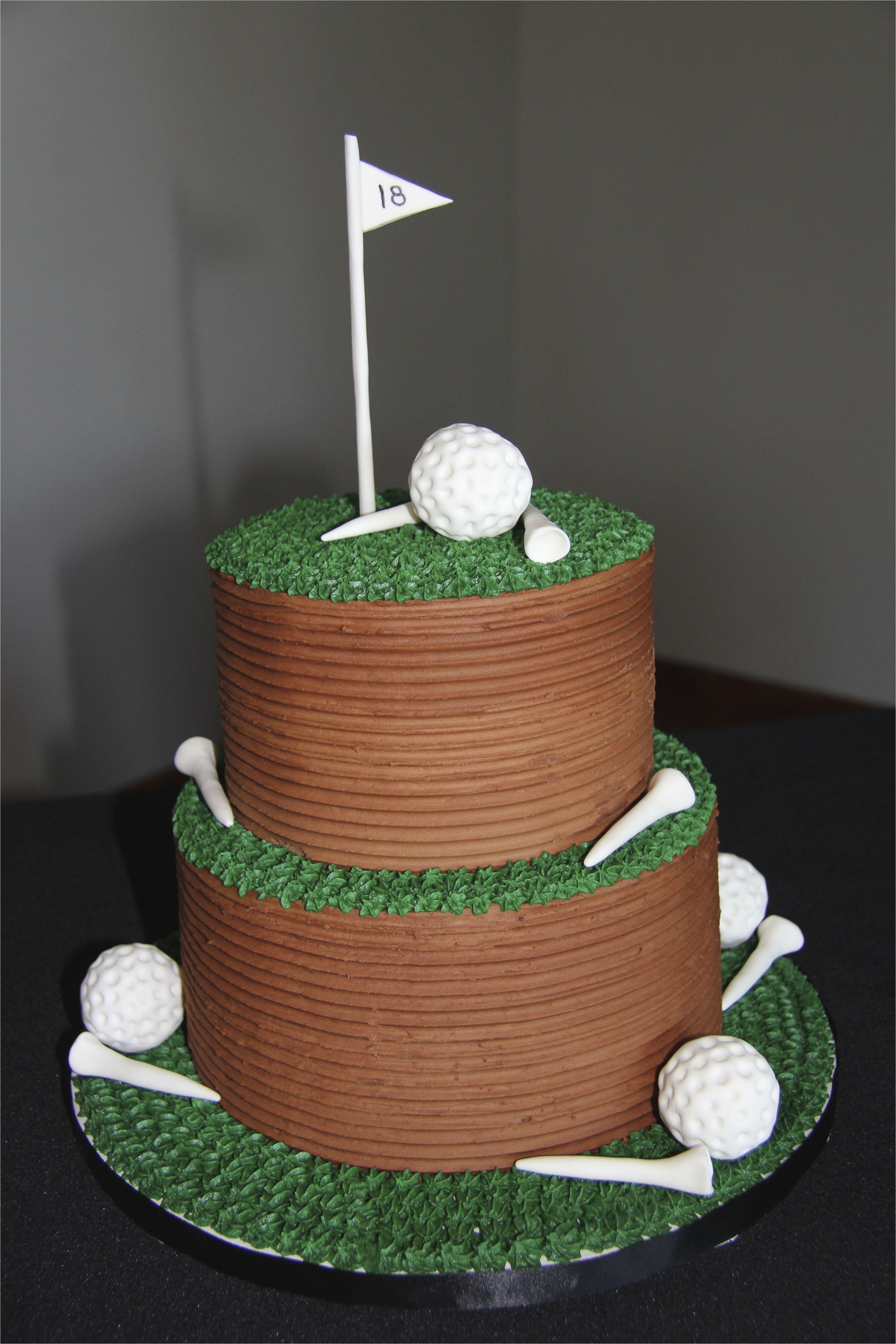 golf groom s cake mas