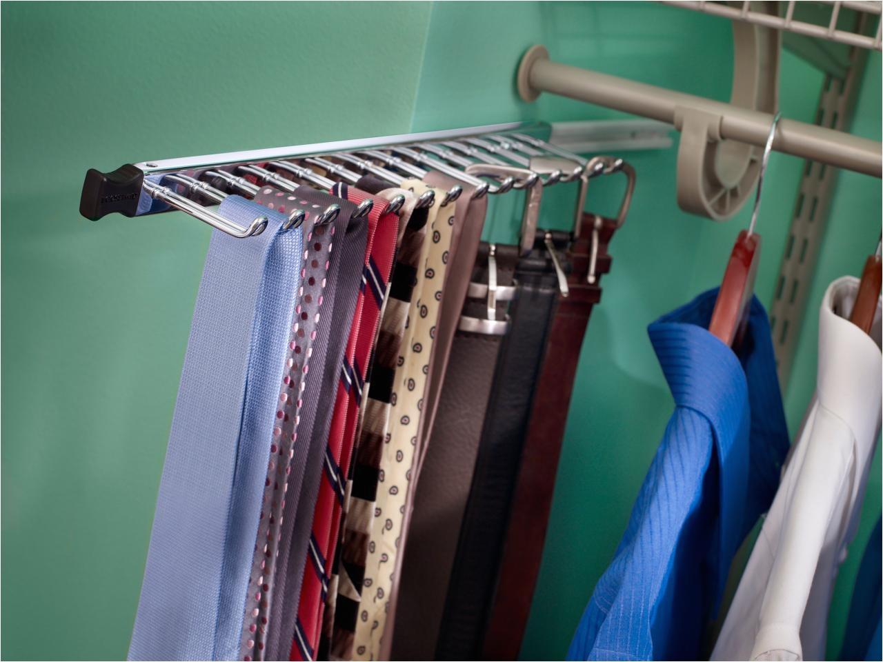 wall mount belt rack view larger