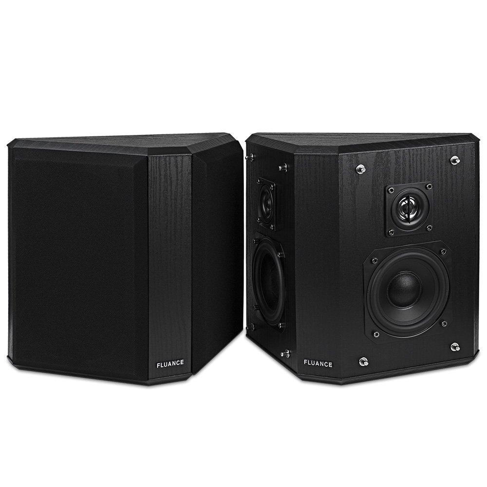 amazon com fluance avbp2 home theater bipolar surround sound satellite speakers home audio theater