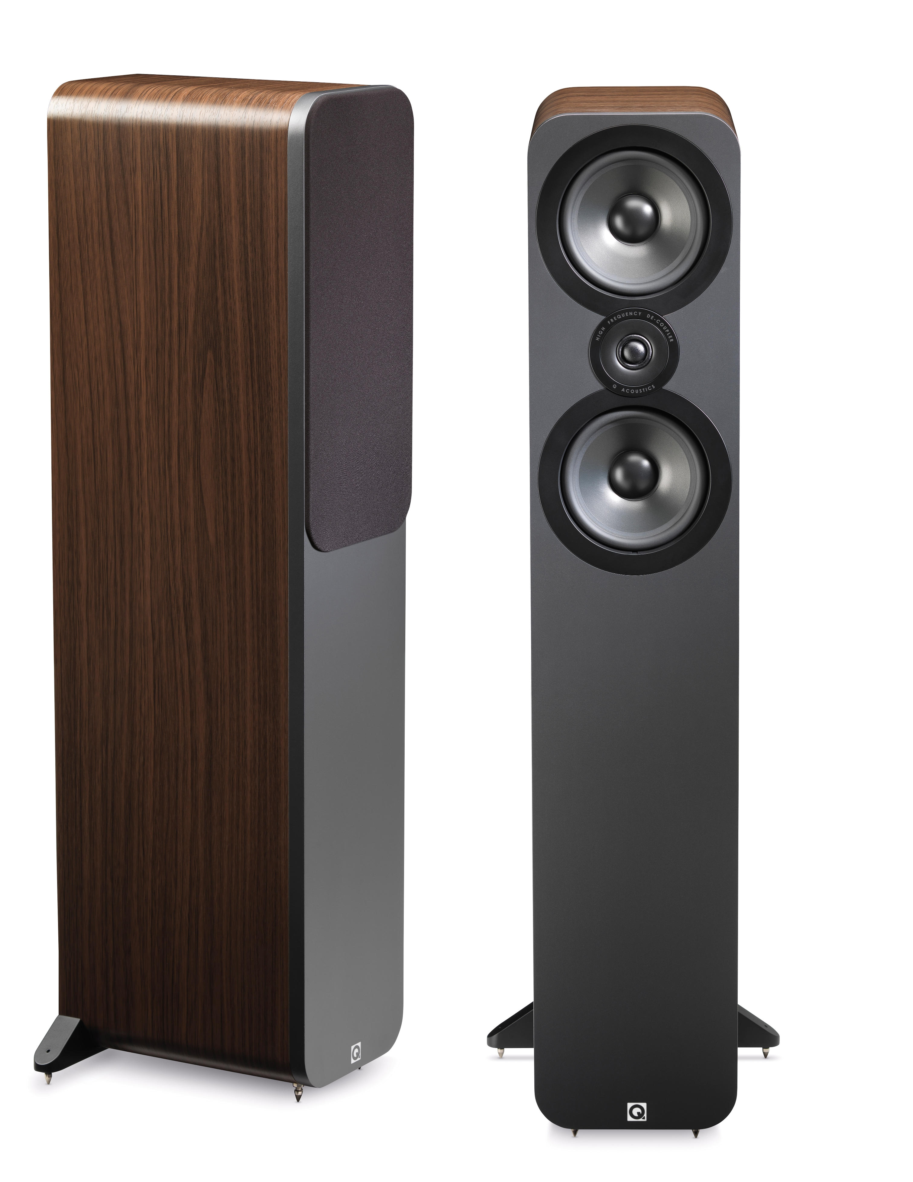review q acoustics speakers and premium cables by audioquest digital music news
