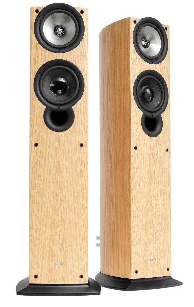 kef iq50 floorstanding speakers kef
