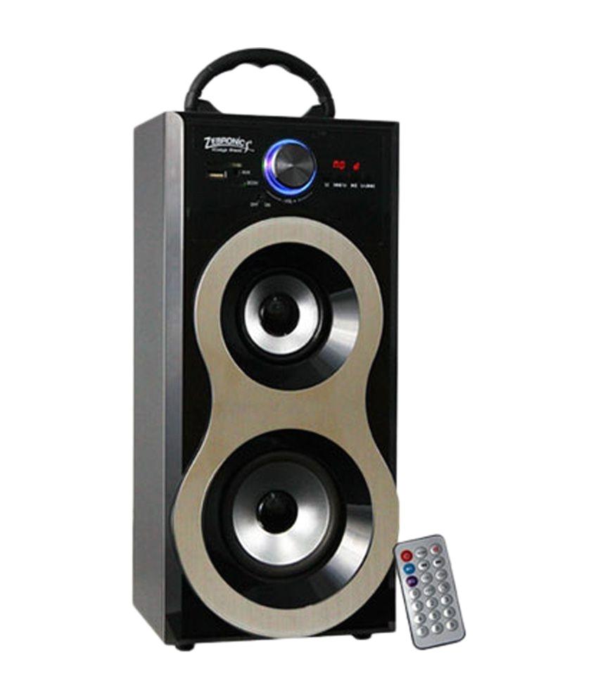 zebronics bliss floorstanding speaker silver