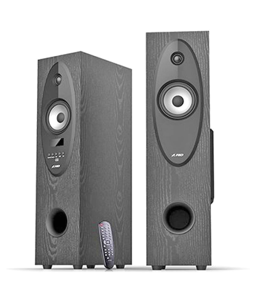 Best Floor Standing Speakers Under 10000 In India Buy F D T30x tower Speakers Black Online at Best Price In India