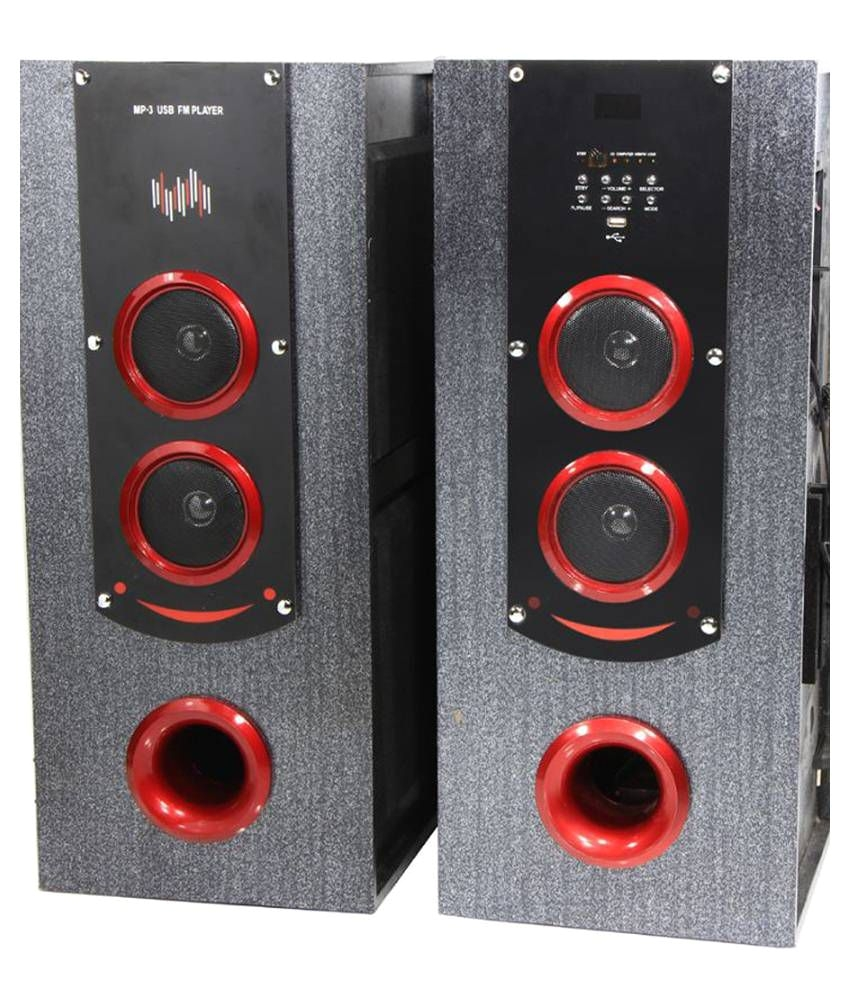 p tech t 12000 floorstanding speakers black