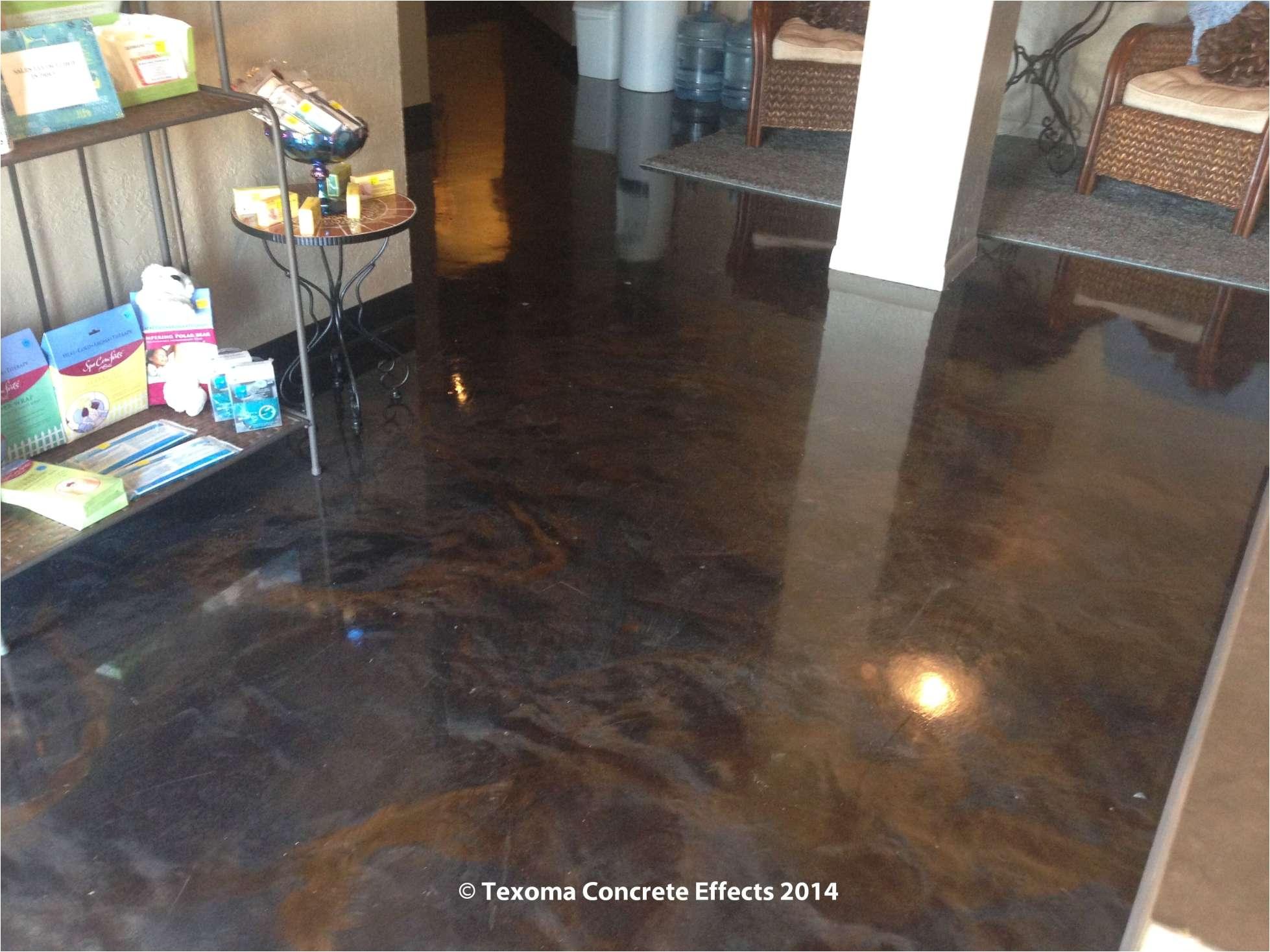 metallic epoxy on spa floor by texoma concrete effects wichita metallic epoxy floor paint
