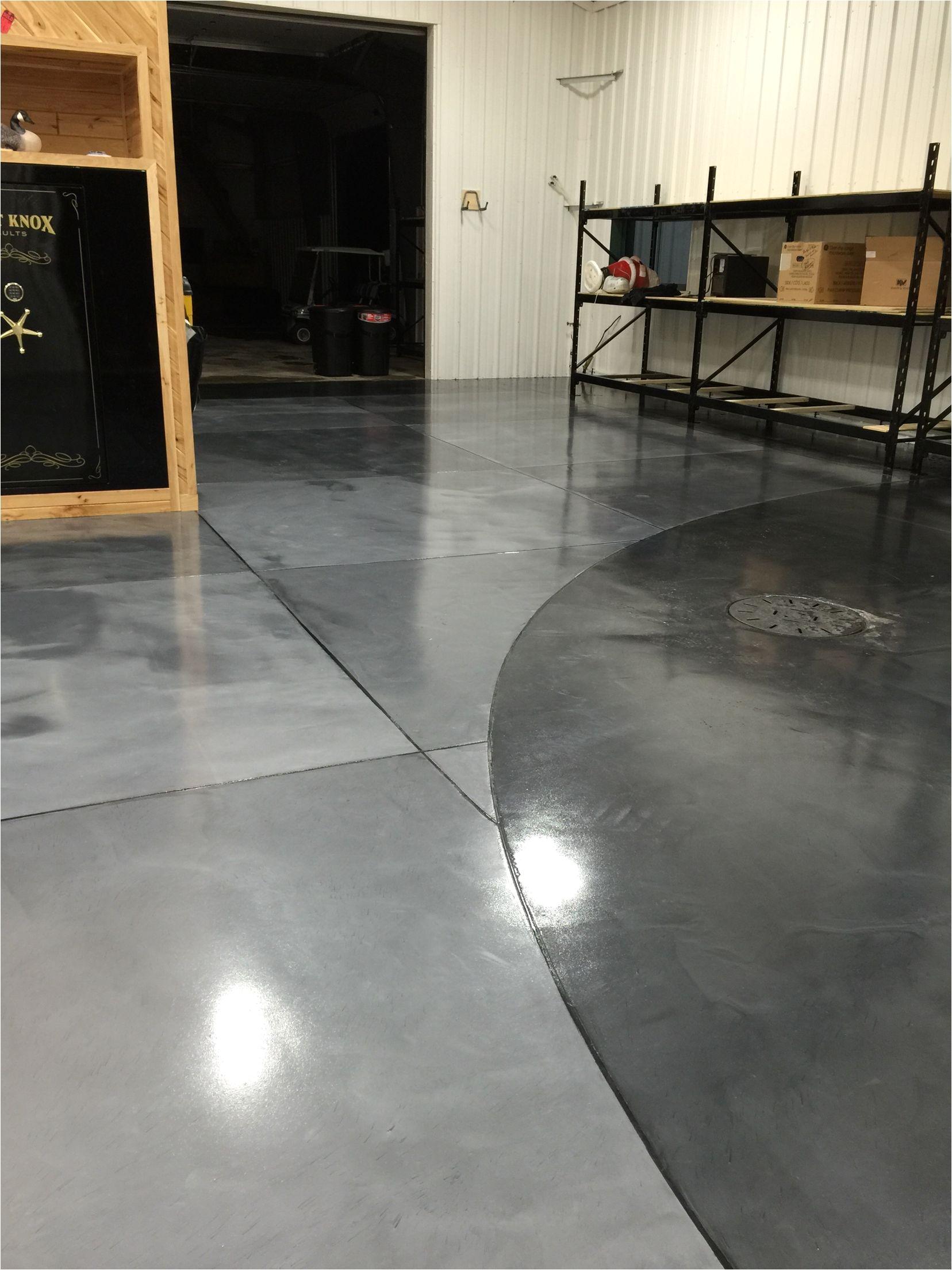 Best Metallic Epoxy Floor Coating Metallic Epoxy Floor Coatings with Epoxy Grout Lines by Sierra