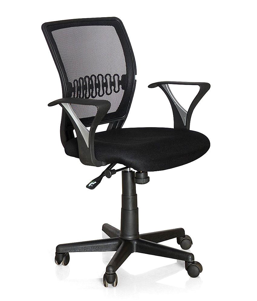 Best Office Chairs Under 5000 Nilkamal norway Office Chair Black Buy Nilkamal norway Office