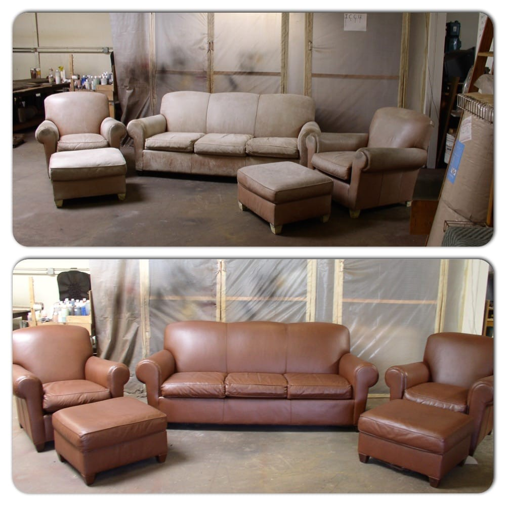 Best Place to Buy Leather sofa In Bay area Advanced Leather solutions 32 Reviews Furniture Reupholstery