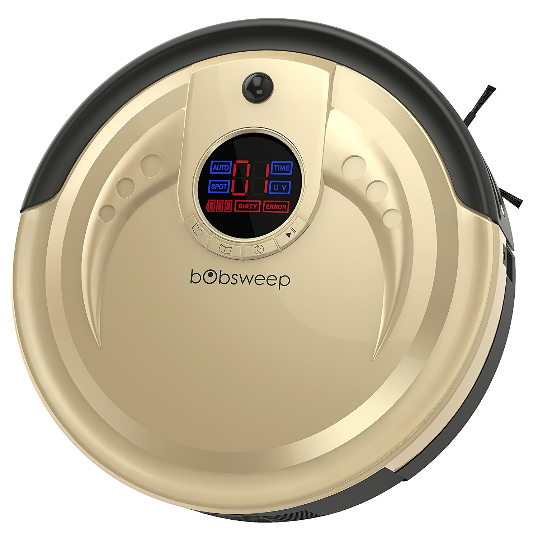 Best Robot Sweeper for Hardwood Floors Amazon Com Bobsweep Standard Robotic Vacuum Cleaner and Mop