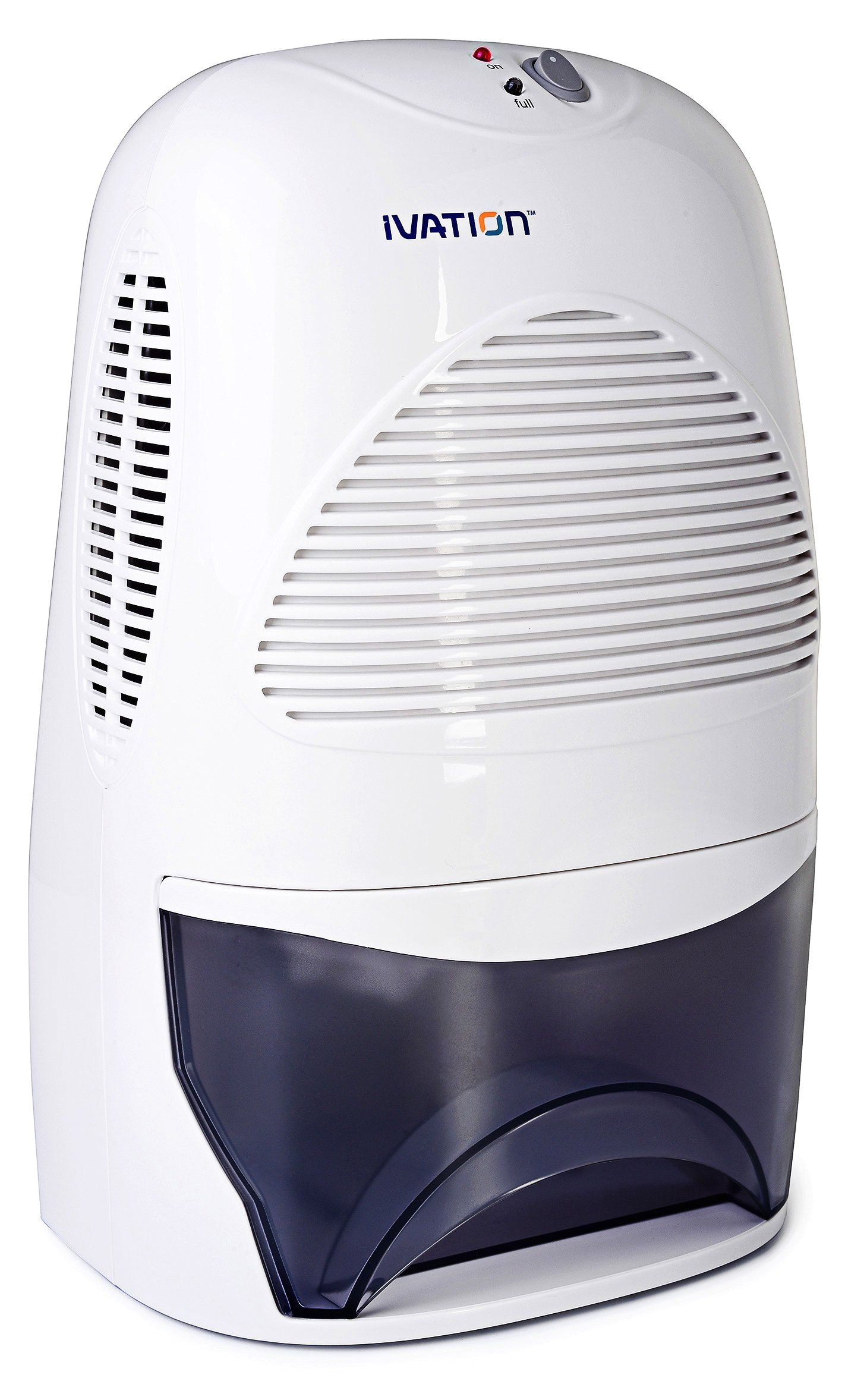 ivation ivadm35 powerful mid size thermo electric dehumidifier quietly gathers up to 20 ounces of water per day for bath room basement attic boats