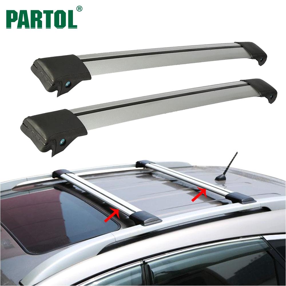 Best Ski Rack for Car A A Partol 2pcs Car Roof Rack Cross Bar Lock Anti theft Suv top
