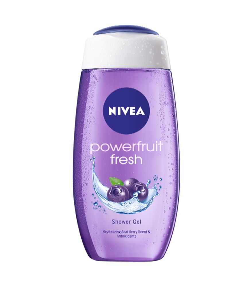 nivea powerfruit fresh shower gel 500 ml