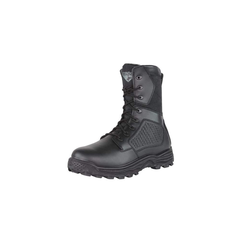 amazon com condor men s murphy zip 9 tactical waterproof leather nylon fabric boots shoes