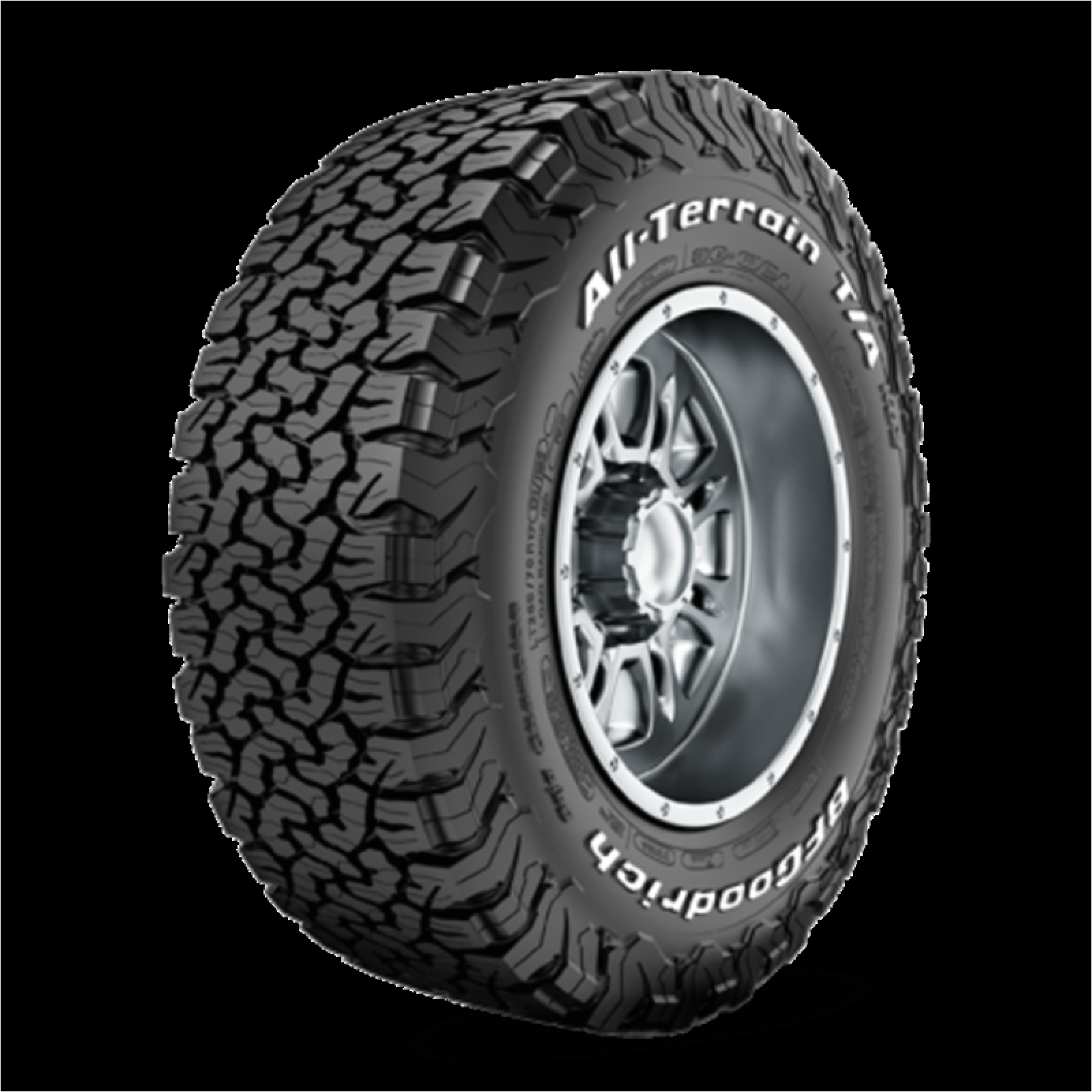 Bf Goodrich Rugged Trail Ta P275/65r18 All Terrain T A Ko2