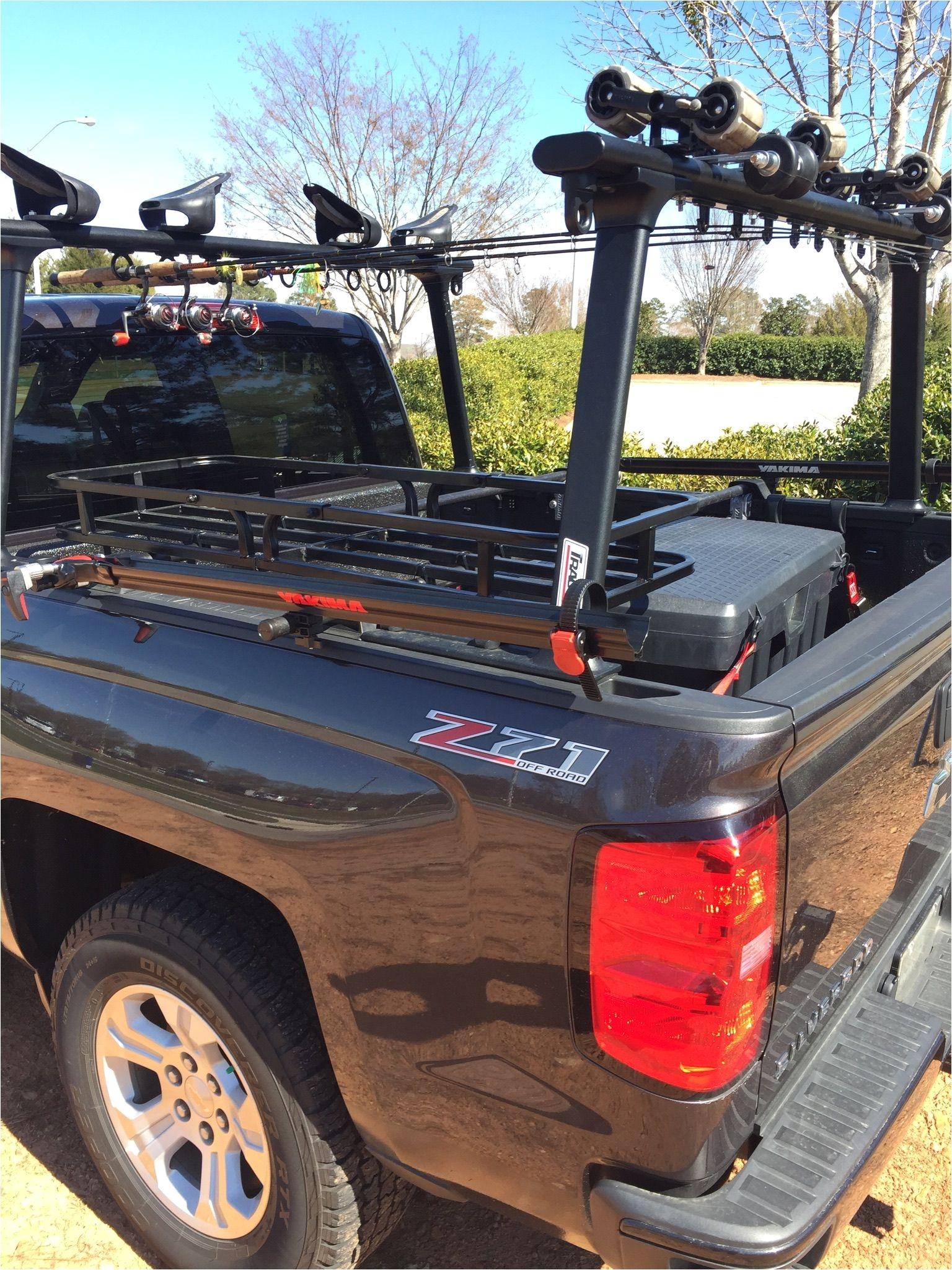 kayak fishing truck bed rack coach ken