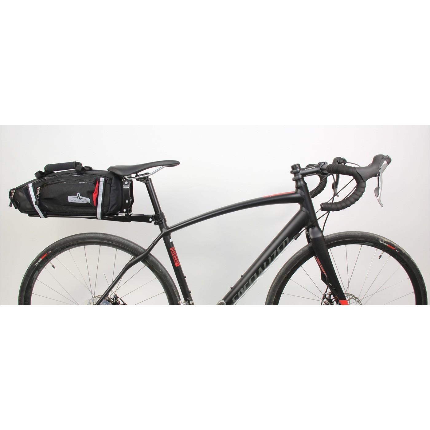 Bike Bags for Rear Rack Arkel Randonneur Rack Seat Post Rack Carbon Seat Post Friendly
