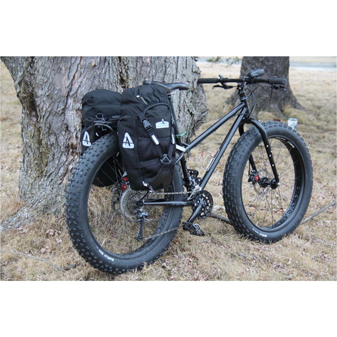 fat bike pugsley with omm sherpa rack