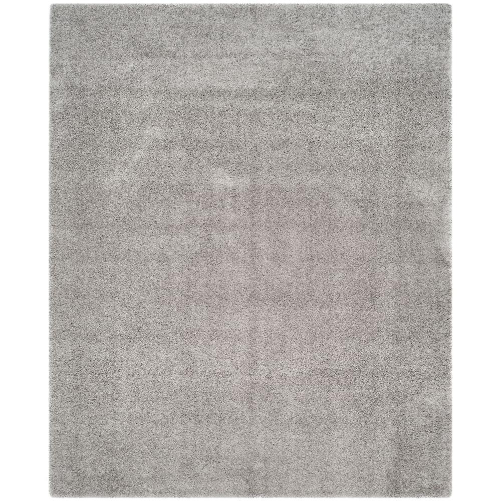 safavieh laguna shag silver 8 ft x 10 ft area rug