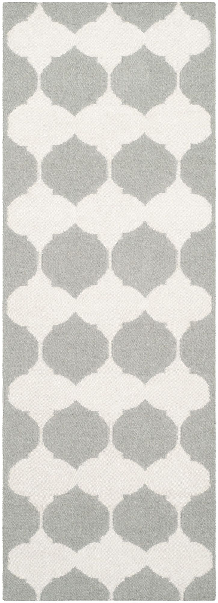 dhurries grey ivory area rug