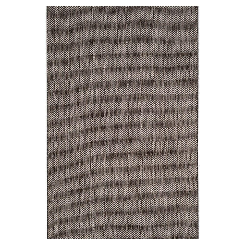 cherwell rectangle 2 3x8 runner outdoor patio rug black beige safavieh