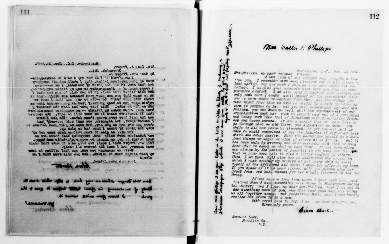 clara barton papers letterbooks 1876 1911 1889 apr 1891 dec pp 1 317 157 1600 jpg
