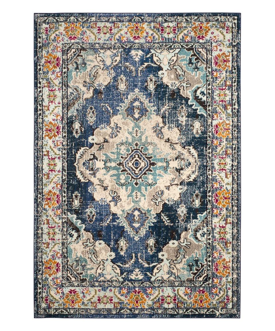 safavieh rugs navy light blue marybeth rug