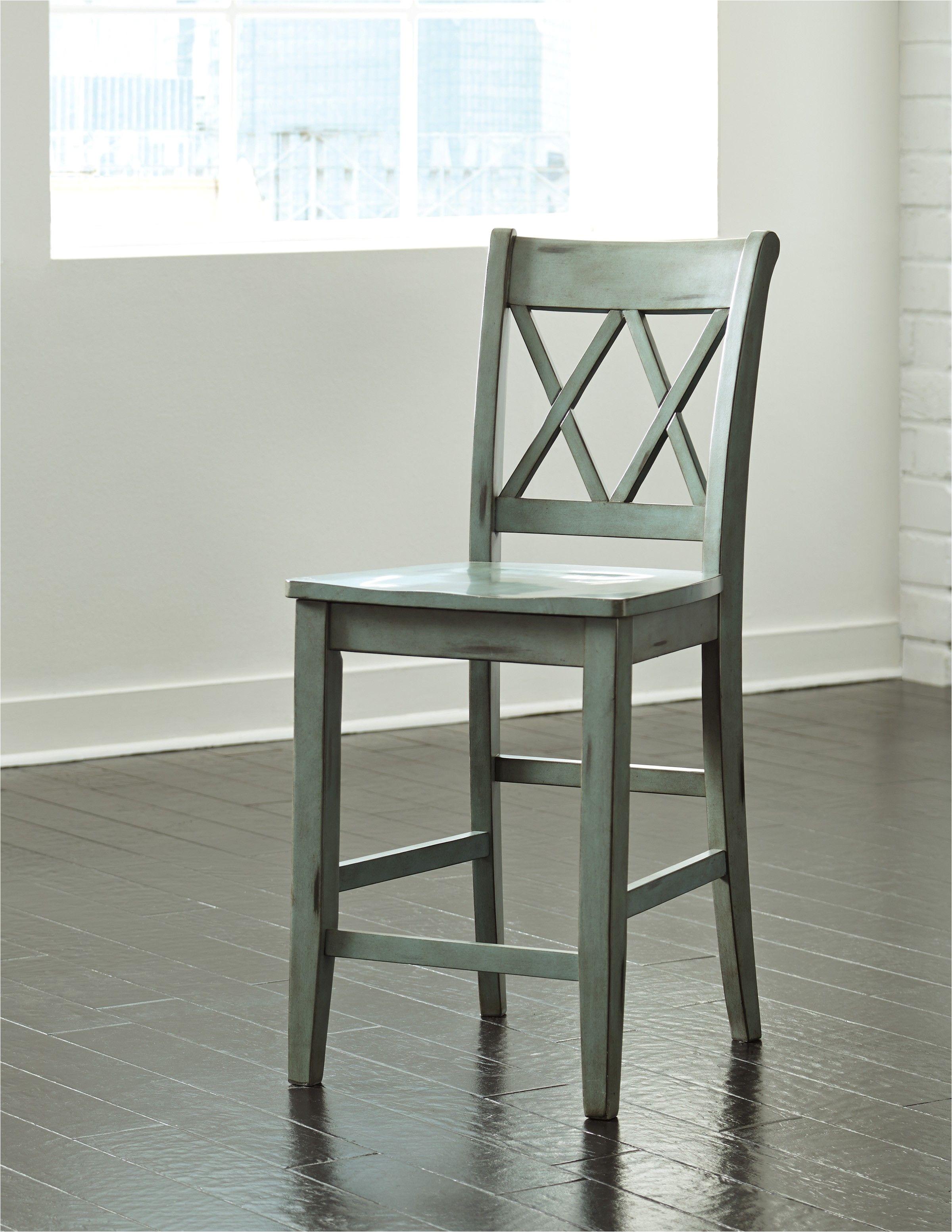 mestler blue green bar stool set of 2