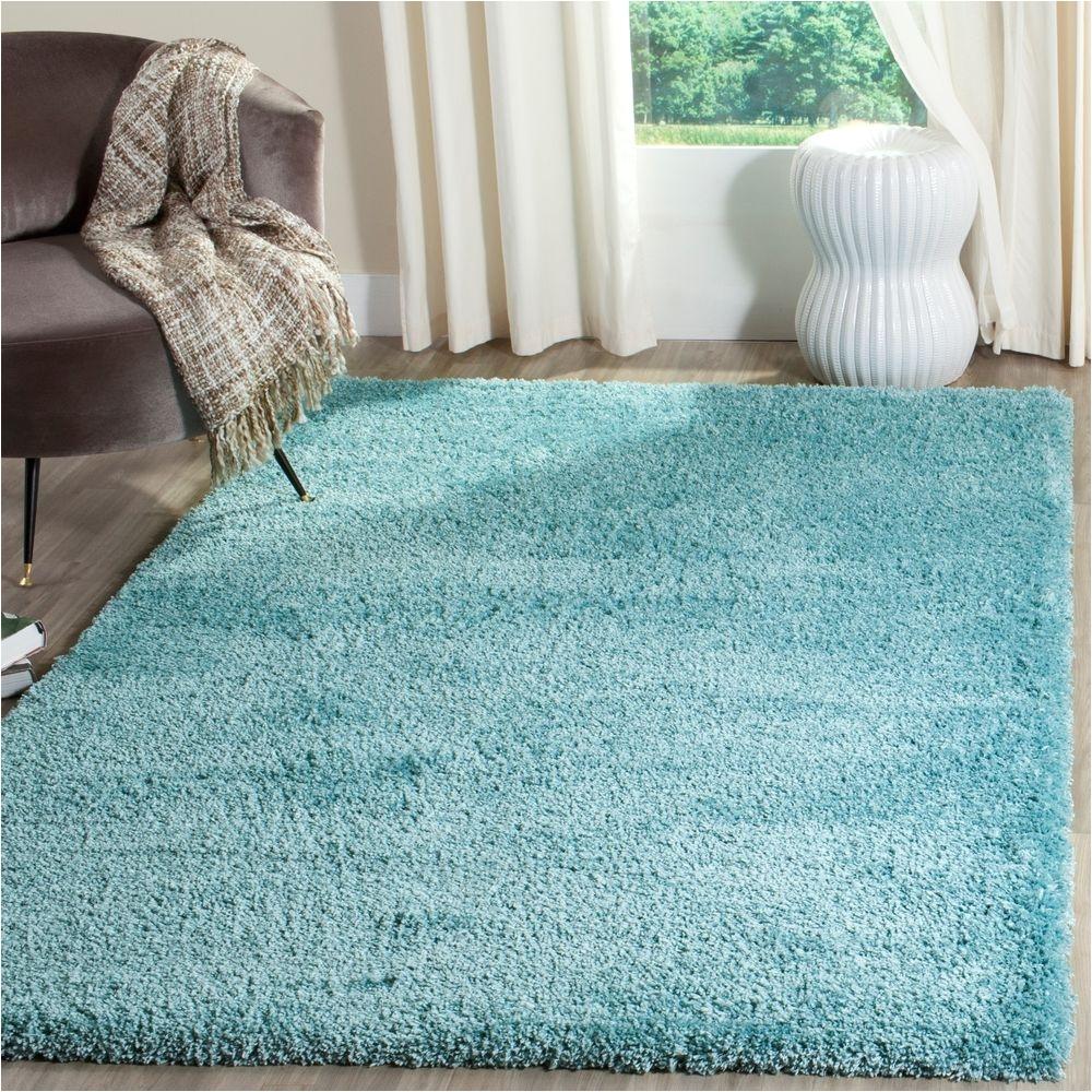safavieh reno deacon power loomed shag area rug or runner blue