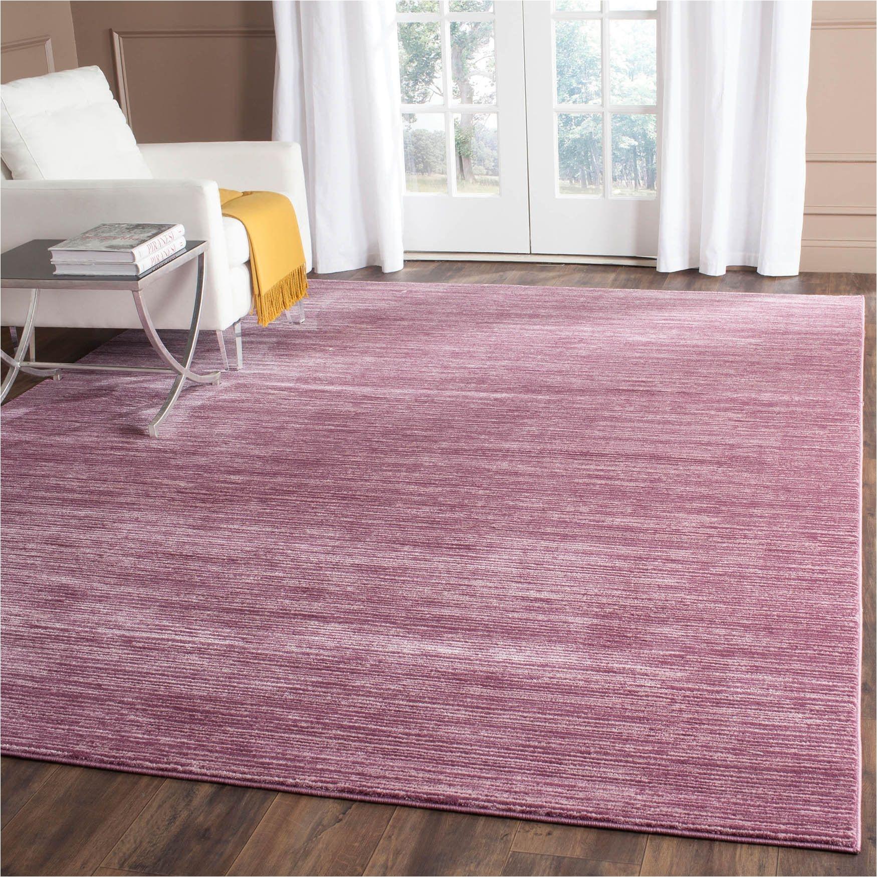 Blush Pink area Rug 8×10 Safavieh Vision Contemporary tonal Purple Pink area Rug 8 X 10