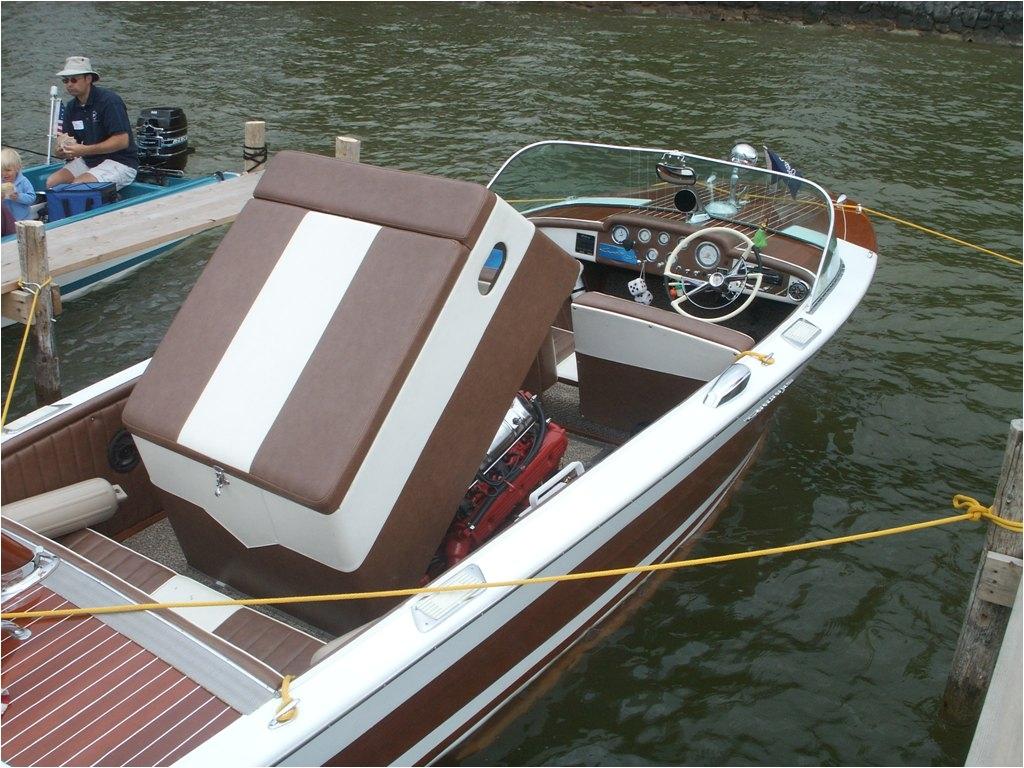 Boat Interior Restoration Michigan Entries Geneva Lakes Boat Show